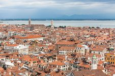Roofs Of Venice Stock Images