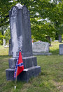 Free Confederate Grave Royalty Free Stock Photography - 3282017