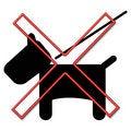 Free Dog Prohibited Sign Stock Photo - 3283460