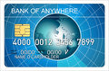 Free Credit Card Globe Stock Images - 3284454