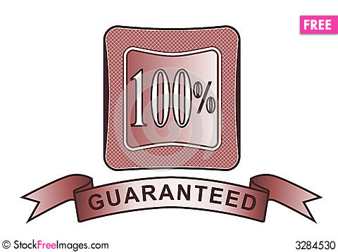 Free Crest 100 Guaranteed Red Stock Photo - 3284530