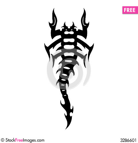 Scorpion Tatoo - Free Stock Images & Photos - 3286601 | StockFreeImages.com