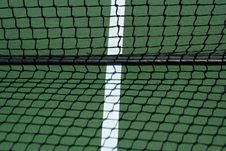 Free Tennis Net And Shadows Royalty Free Stock Photos - 3280118