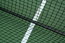 Free Tennis Net And Shadows Stock Photo - 3280120