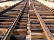 Free Unfinished  Railroad Stock Photo - 3280240