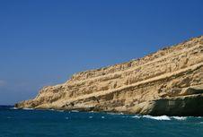 Free Matala Caves Stock Image - 3280451