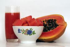 Free Papaya Stock Photo - 3280750