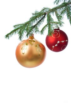 Free Christmas Decoration Ball Royalty Free Stock Image - 3280806