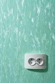 Free Electric Wall Plug Stock Image - 3280861