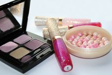 Free Make-up Set Stock Image - 3281081