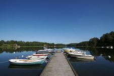 Free Sweden Boat Dock 4 Royalty Free Stock Photo - 3281405