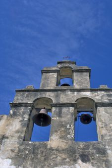 Free Church Bell Tower Royalty Free Stock Photography - 3281647