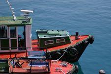 Free Old Fishing Boat At Dock Royalty Free Stock Photos - 3282258