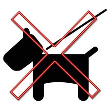 Free Dog Prohibited Sign Stock Photo - 3283460