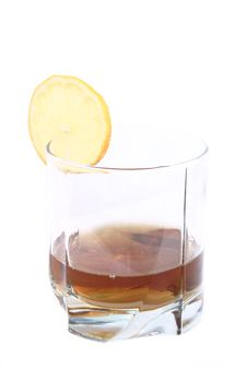 Free Cognac In A Glass Stock Photos - 3283983
