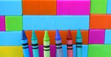 Free Crayon Tips Stock Photo - 3284060