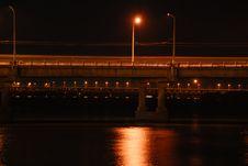 Free Night Brige Stock Image - 3284131