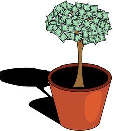 Free Money Tree. [Vector] Stock Photos - 3284823