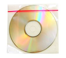 CD In Plastic Case Stock Photos