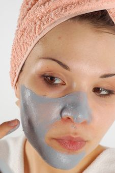 Beauty Mask 33 Royalty Free Stock Image