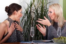Free Girls Gossiping Stock Photography - 3288092