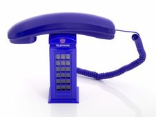 Free Red Telephone Royalty Free Stock Images - 3288249
