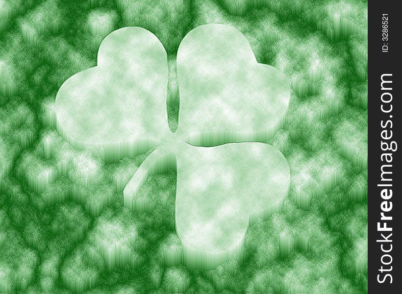 Four Leaf Clover / ice