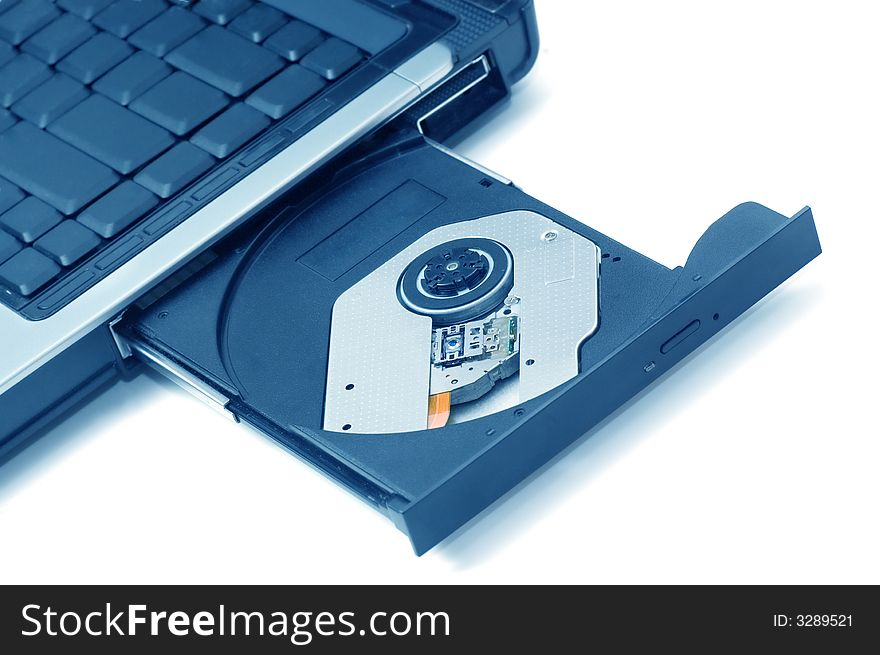 Open Cd Rom Drive On A Laptop Free Stock Images Photos
