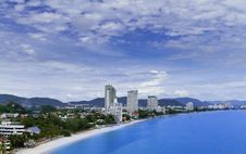 Hua-Hin Beach Royalty Free Stock Photo
