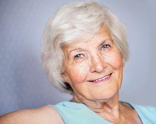 Free Senior Woman Portrait Royalty Free Stock Image - 32805796