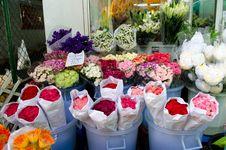 Free Flowermarket In Bangkok ,Thailand Stock Photos - 32807513