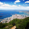 Free Aerial View Of Gibraltar Stock Photos - 32829823