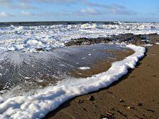 The Foamy Sea Stock Photos