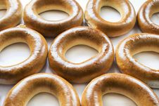 Free Some Golden Bagels Stock Images - 32823914