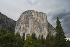 Free El Capitan From Yosemite Valley Stock Photos - 32824933