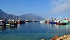 Small Harbour Royalty Free Stock Images