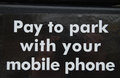 Free Pay To Park Sign Stock Photography - 32833252