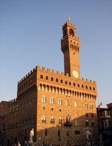Palazzo Vecchio - Florence Royalty Free Stock Images