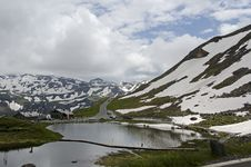 Free Beautiful Mountain With Water In Grossglockner Austria Royalty Free Stock Photography - 32839107