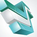 Free 3d Abstract Background Royalty Free Stock Photos - 32858228