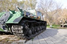 Free Self-propelled Gun Mount Stock Photos - 32856413