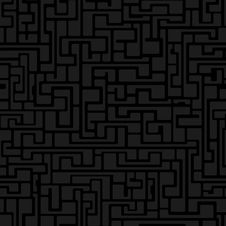 Free Labyrinth Abstract Seamless Royalty Free Stock Photography - 32858247