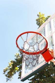 Free Basketball Basket Stock Photography - 32859092