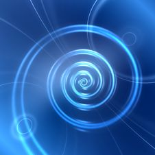 Free Abstract Digital Spiral Background Royalty Free Stock Photos - 32859148