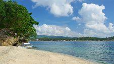 Free The Beach In Boracay Island Royalty Free Stock Photo - 32859315