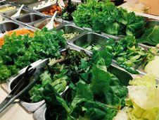 Free Salad Buffet Stock Image - 32859521