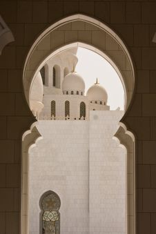 Free Sheikh Zayed Mosque Royalty Free Stock Images - 32862189