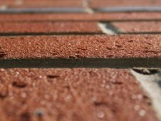 Free Brick Work At An Angle Stock Image - 32869101