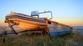 Free Old Boat New Boat Stock Photos - 32872943