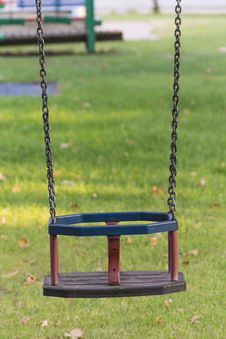 Free Playground Swing Royalty Free Stock Photos - 32874828